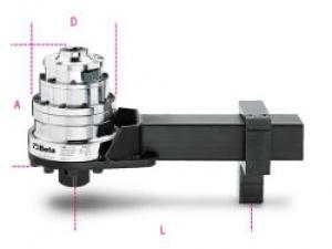 Moltiplicatore di coppia rapporto 25:1 con dispositivo antiritorno Beta 565/4R