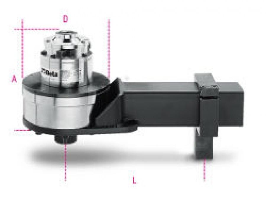 Moltiplicatore di coppia rapporto 125:1 con dispositivo antiritorno Beta 567/5R