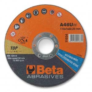 Beta 11038 disco abrasivo da taglio per acciaio e inox 110380022 - dettaglio 1