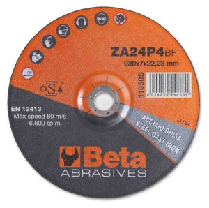 Beta 11050S Disco abrasivo da sbavo per acciaio e ghisa - dettaglio 1