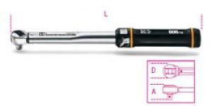 Chiave Dinamometrica a scatto con cricchetto reversibile Beta 606/10x Nm  20-100