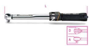 Chiave Dinamometrica a scatto con cricchetto reversibile Beta 666/6 Nm 8-60