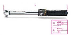 Chiave Dinamometrica a scatto con cricchetto reversibile Beta 666/10x Nm  20-100