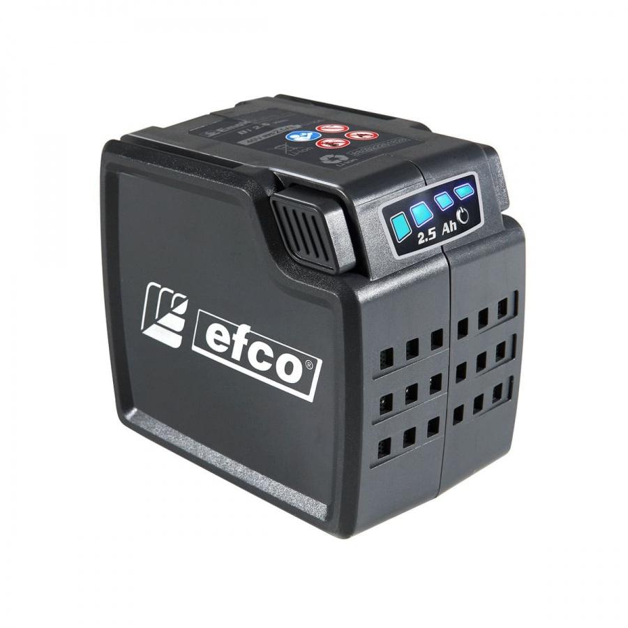 Soffiatore a bateria 40v 2.5 ah efco sai 60 54069002s1 - dettaglio 3
