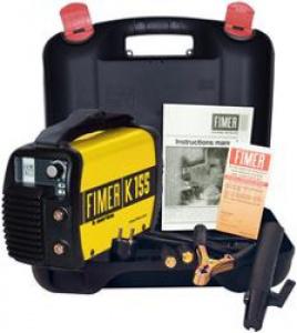 Saldatrice portatile Inverter Monofase Kw 3,0 Fimer K155  Ah 5-130 mm. 1,5-3,25
