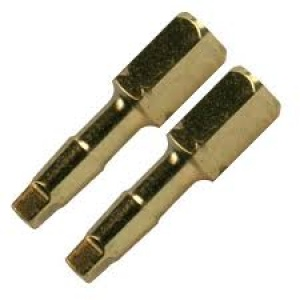 Cf. Inserti Torsion Gold mm. 25 Makita art. B-28379 Quadro SQ2 pezzi 2