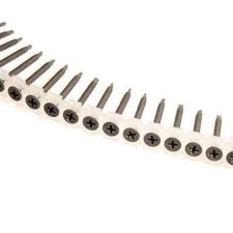 Cf. Viti Nastrate Fosforizzate Autofor. Tipo D per cartong. spess. 0,7-2,25 Makita art. F-31195 mm. 3,5x35 pz. 1000
