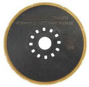 Lama segmentata per TM3000C Tipo TMA004 per Multifunzione per lamiera mm. 1,0 e fiberglass Makita art. B-21303 D. mm. 65
