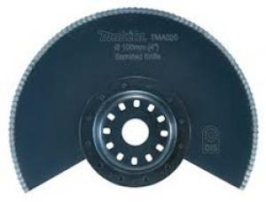 Lama Segmentata Bim per Multifunzione TM3000C Tipo TMA020 per materiali isolanti, polistirolo, pelle e gomma Makita art. B-21462 D. mm. 100