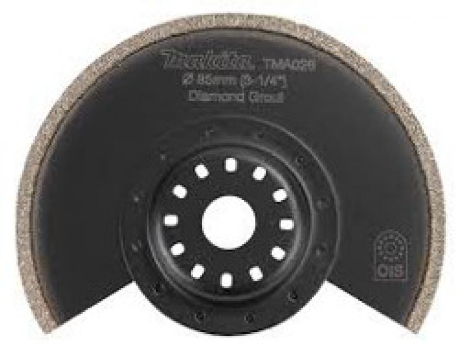 Lama Diamantata gr. 40 per Multifunzione TM3000C Tipo TMA026 per fibre epossidiche, piastrelle tenere Makita art. B-21521 D. mm. 65