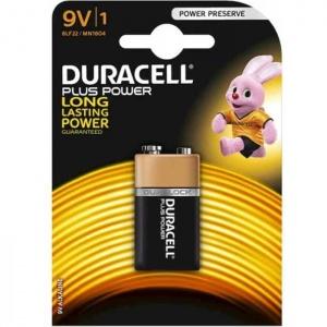 Duracell 9V Batteria Plus Power Pz 1 - 6LF22/MN1604
