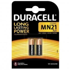 Duracell MN21 Batterie alcaline  Long Lasting Power 12V Pz 2 - 23A/V23GA/LRV08/8LR932