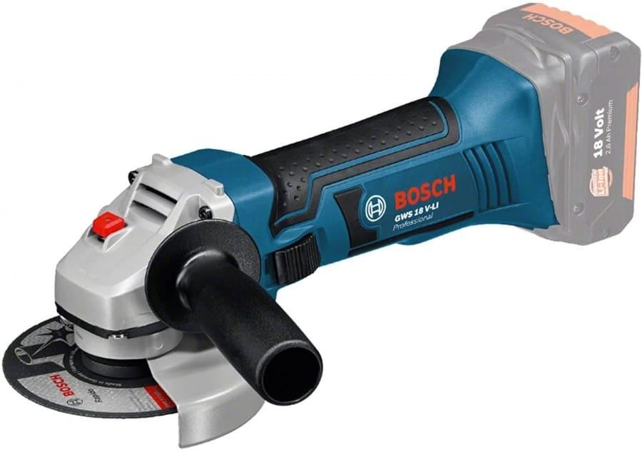 Bosch 0615990M0U Set tassellatore, smerigliatrice e avvitatore18V - dettaglio 4