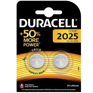 Duracell 2025 Batterie litio 50% More Power a bottone 3V Pz 2 - DL/CR 2025