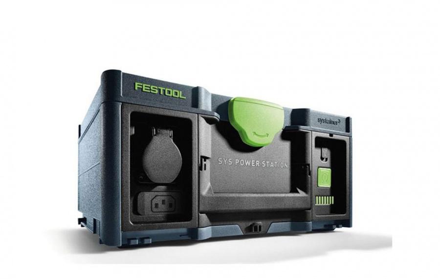 Festool SYS-PST 1500 Li HP PowerStation Presa di corrente portatile - dettaglio 2