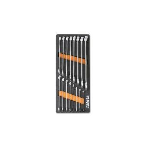 Serie 16 chiavi combinate con termoformato morbido m05 beta 024500005 - dettaglio 1