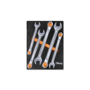Serie 5 chiavi combinate con termoformato morbido m06 beta 024500006 - dettaglio 1