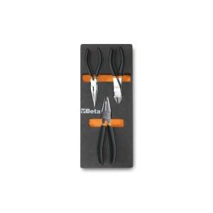 Serie 3 pinze e tronchesi con termoformato morbido m137 beta 024500137 - dettaglio 1