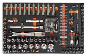Beta ME91 Assortimento utensili con termoformato morbido 159 utensili - 024509091