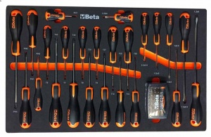 Beta ME211 Assortimento utensili con termoformato morbido 47 utensili - 024509211