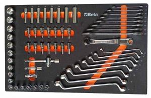 Beta ME35 Assortimento utensili con termoformato morbido 60 utensili - 024509035