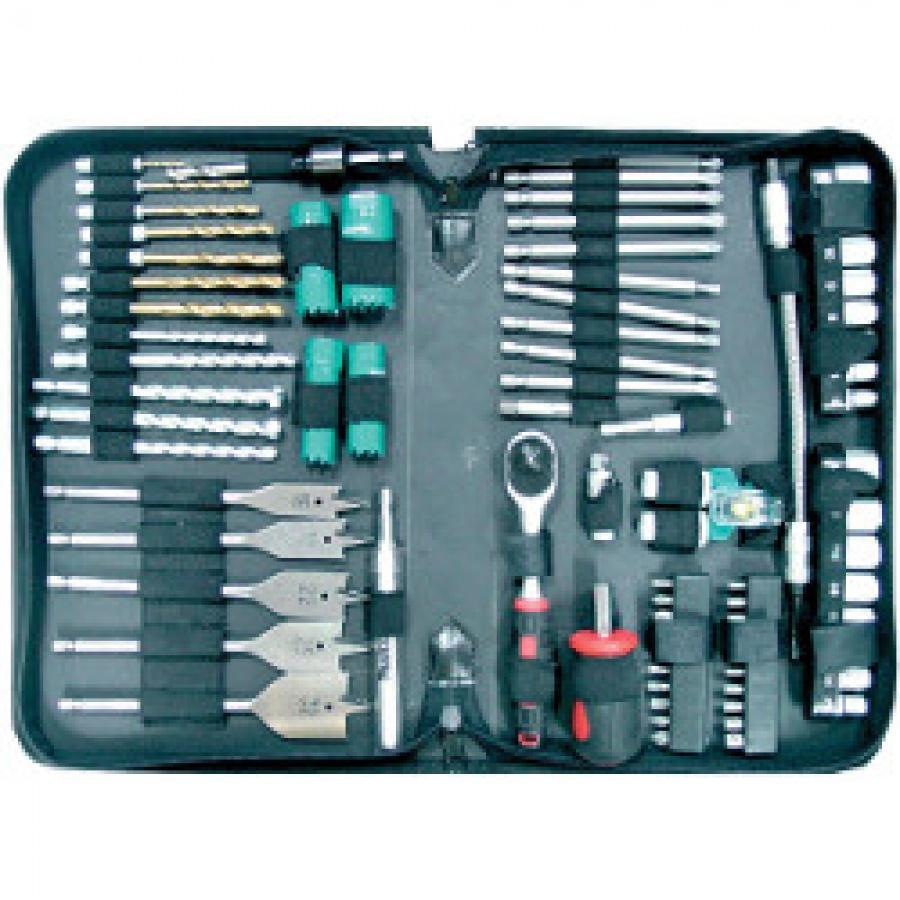 Set utensili per foratura ed avvitatura Makita P-52065 pz. 79 in custodia