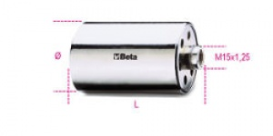 Bruciatore in acciaio Beta 312BR/A mm. 45