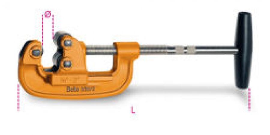 Taglitubi per tubi gas in acciaio Beta 330/2