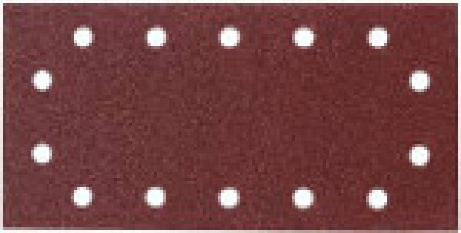 Disegno Carta abrasiva 14 fori per levigatrice 115x280 mm - 10pz