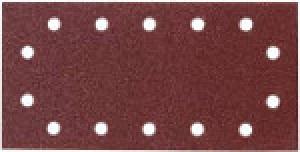 Disegno Carta abrasiva 14 fori per levigatrice 115x280 mm - 50pz