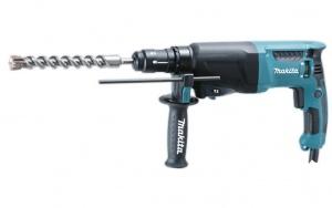 Trapano Tassellatore Demolitore 800W Makita HR2610T mm. 26  Doppio Mandrino ( Mod. HR2611FT Senza Led e AVT)