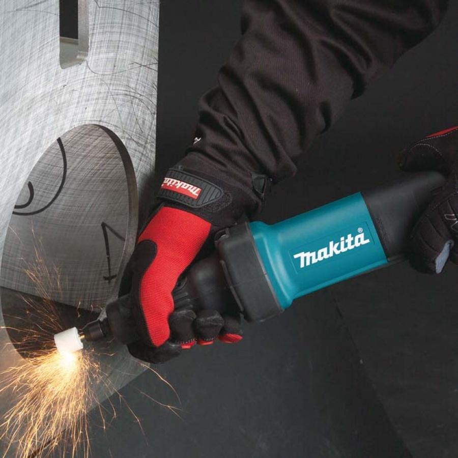 utilizzo Smerigliatrice diritta 400W Makita GD0600 gambo mm. 6
