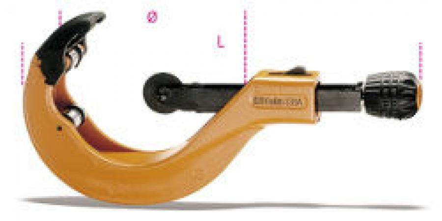 Tagliatubi ad avanzamento telescopico per tubi in plastica Beta 339A mm. 50-127