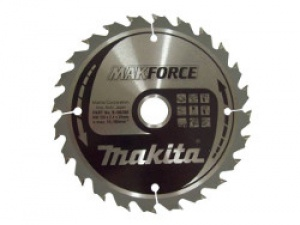 Lama MakForce per Legno per Seghe Circolari Makita art. B-08414 Tipo CSM35540G F.30 Z40 Taglio Medio D. mm. 270