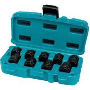 "Set di bussole 1/2"" Makita Art. P-46953 pz. 9"