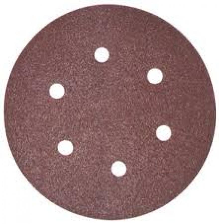 Disegno Disco abrasivo 6 fori per levigatrice 150 mm - 50pz