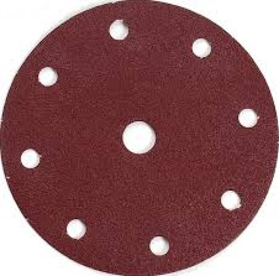 Disegno Disco abrasivo 8+1 fori per levigatrice 150 mm - 10pz
