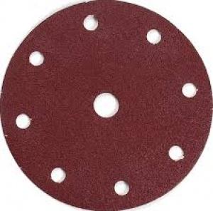 Disegno Disco abrasivo 8+1 fori per levigatrice 150 mm - 50pz