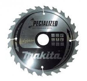 Lama Specialized Taglio Legno anche chiodato per Seghe Circolari Makita art. B-09444 Tipo CSME23524G F. 30 N. Denti 24 Tipo Taglio Medio D. 235X30X24Z