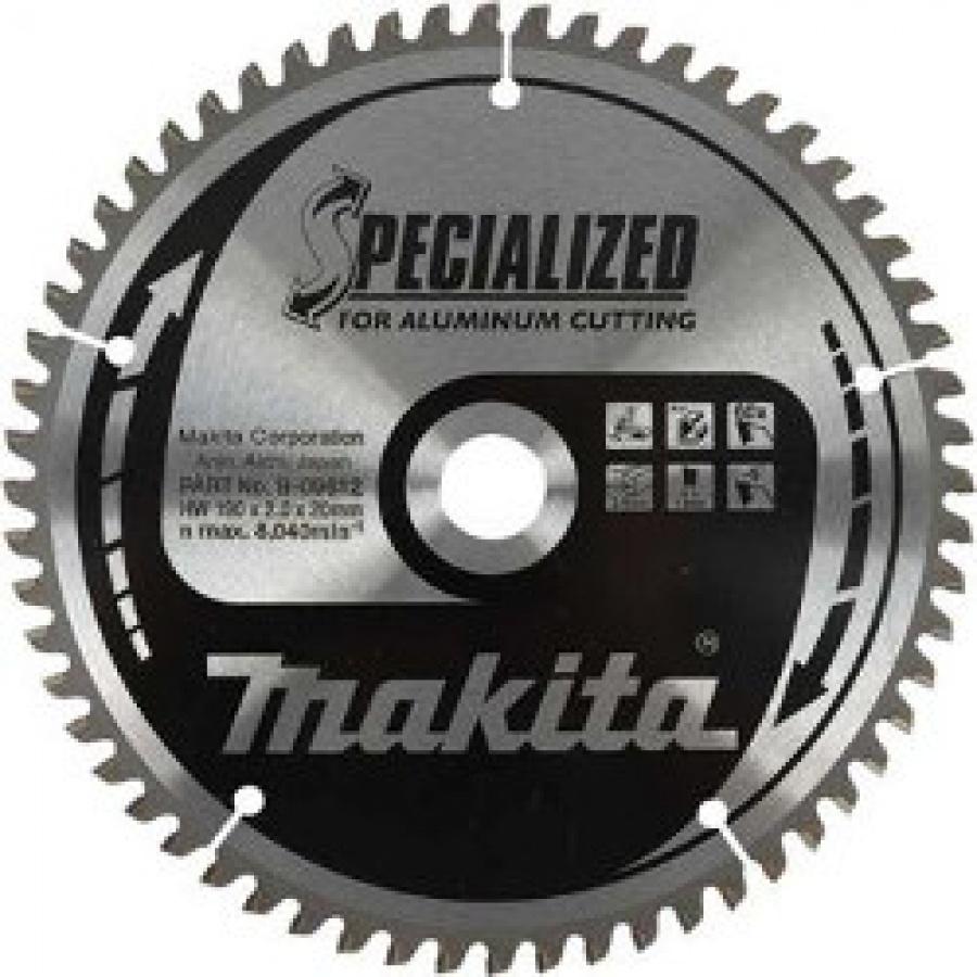 Lama Specialized Taglio Alluminio per Seghe Circolari Makita art. B-09581 Tipo CSA18560C F. 15,88 N. Denti 60 D. mm. 185X15,88X60Z