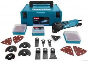 Utilizzo Utensile Multifunzione Makita TM3010CX2J kit completo