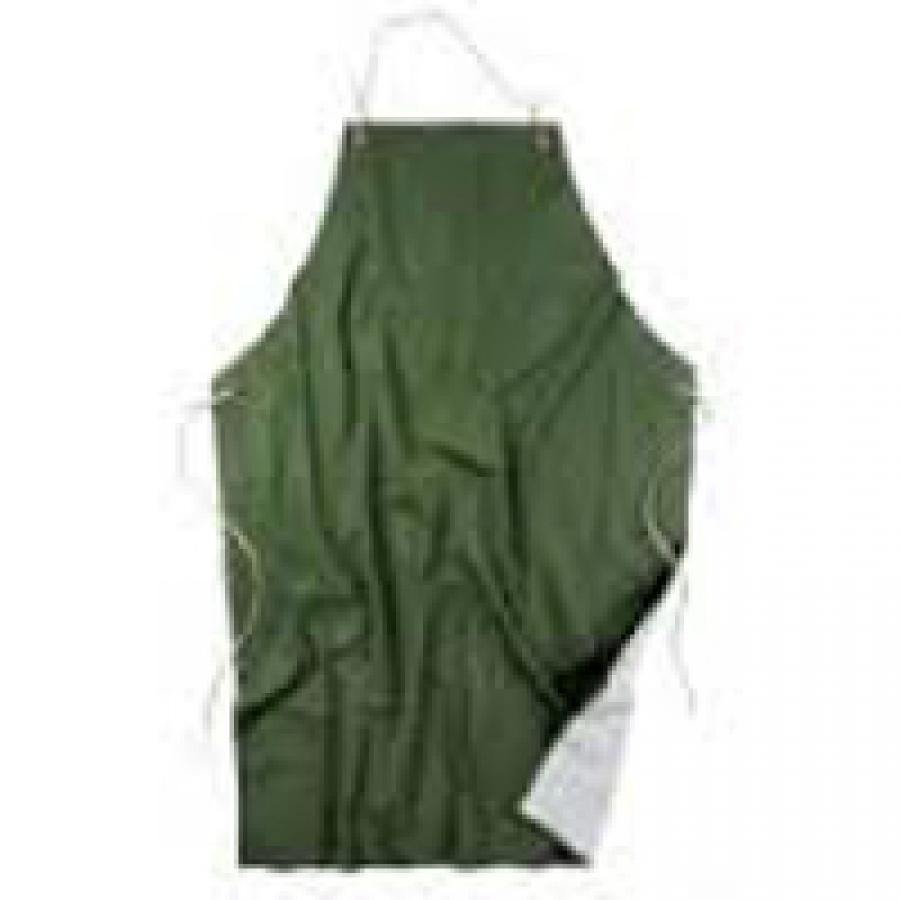 Grembiule PVC Poliestere Verde art. 1033V cm. 75x110