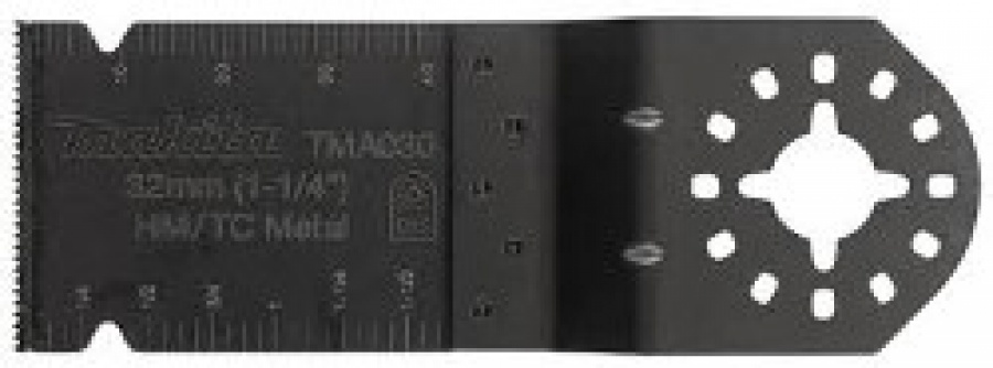 Lama HM/TC per Multifunzione TM3000C adatta per Taglio Inox, Cartongesso, Chiodi Tipo TMA030 Makita art. B-39213 mm. 32X40