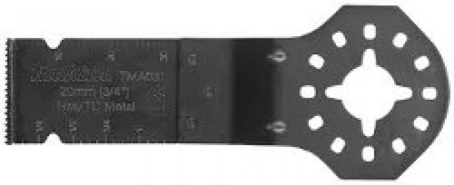 Lama HM/TC 40-50HC duro Long Life per Multifunzione TM3000C adatto per Inox, Cartongesso e Chiodi Tipo TMA031 Makita art. B-39229 mm. 20x30