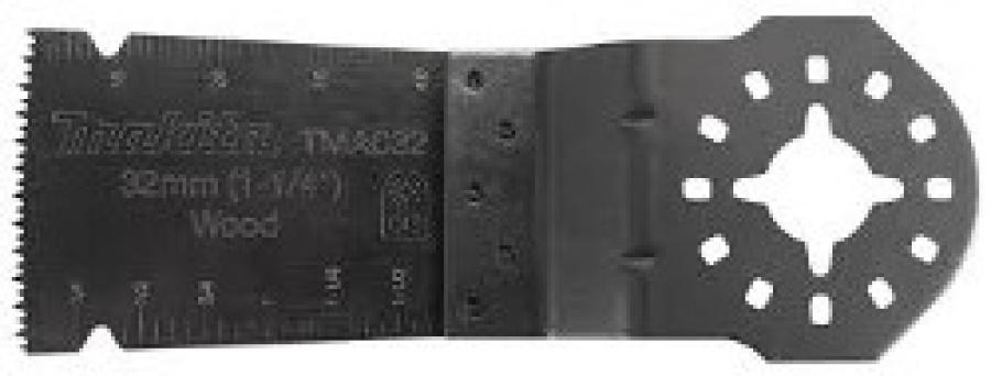 Lama HCS per Multifunzione TM3000C per Legno ed Epossidiche Tipo TMA032 Makita art. B-39235 mm. 32x40