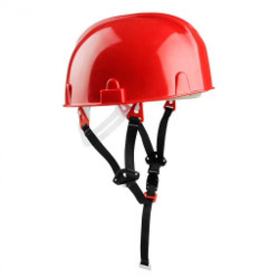 Elmetto di Protezione Senza Visiera Ideale per Lavori su Ponteggi Socim Art. 1140RO Rosso