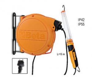 Avvolgitore Automatico Completo di Portalampada a Fluorescenza 230 Vac Beta 1844BM 11W