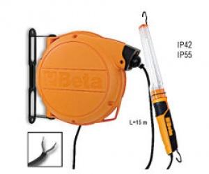Avvolgitore Automatico Completo di Portalampada a Fluorescenza 24 Vac Beta 1844ABM 11W