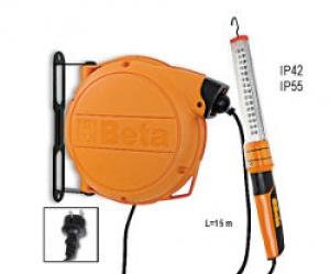 Avvolgitore Automatico Completo di Lampada a Led 230Vac Beta 1846XBM