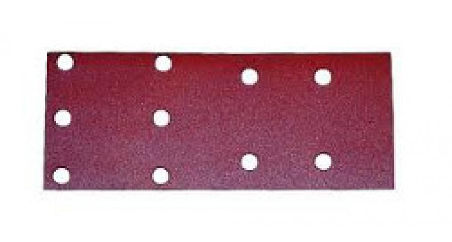 Disegno Carta abrasiva forata per levigatrice 100X240 mm - 10pz